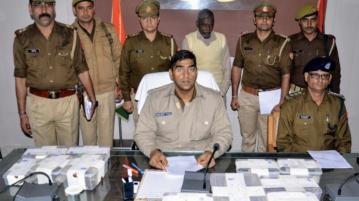 मीरापुर खादर में पुलिस ने अवैध शस्त्रों की फैक्ट्री पकड़ी